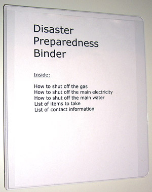 disaster-preparedness-binder