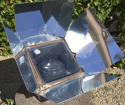 cooking without electricity solar sun oven Government Funding For Solar Panels