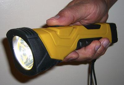 I love my Dorcy Cyberlight Flashlight