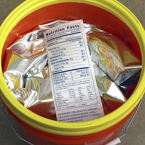 fold-mylar-into-bucket