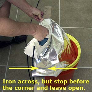 use-flat-board-under-mylar-bag
