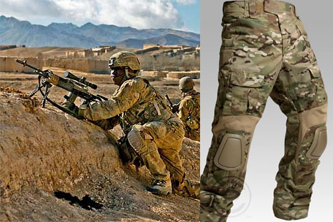 MultiCam Camouflage Pattern Selected for U.S. Army Uniform and