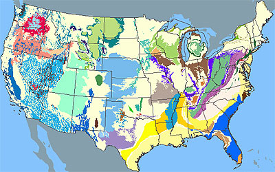 United States Aquifer Locations – 3/5/12