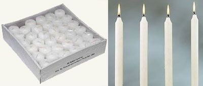 Candles: Lowest Cost Per Hour – 3/25/12