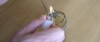 light-the-olive-oil-wick