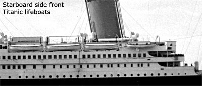lifeboats-of-the-titanic