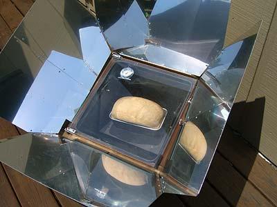 solar oven bread
