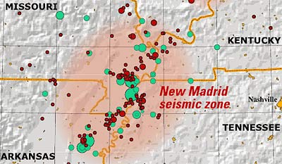 New Earthquakes On New Madrid Fault Zone  Modern Survival