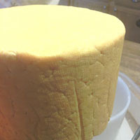 cheese after the 40lb press