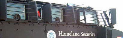 homeland security police rescue vehicle gun ports Obama DHS Buys 2,717 Light Armored Tanks...
