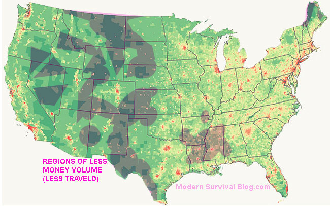 united-states-map-regions-least-traveled