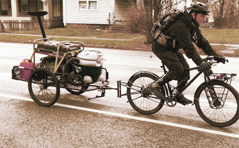 Survival Bicycle and Trailer