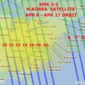 North Korea Satellite Orbit