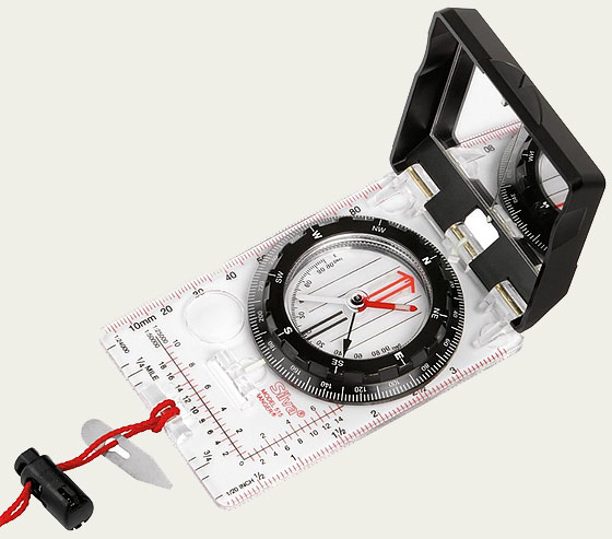 how to set declination on suunto compass