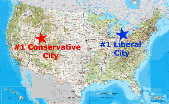 top-conservative-and-liberal-cities-in-the-united-states