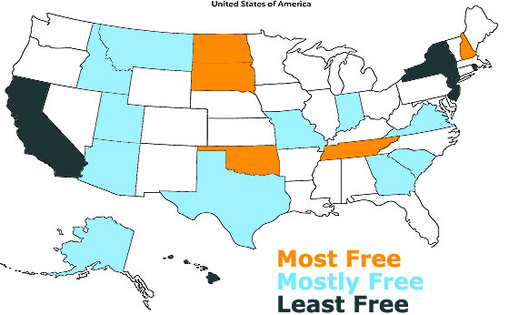 the-most-free-states