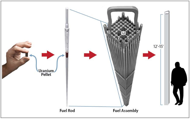 nuclear-fuel-assembly