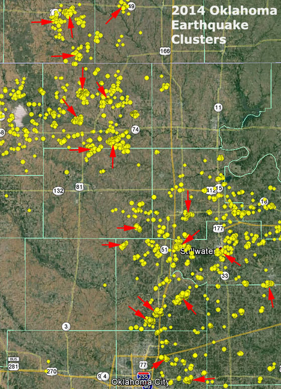 2014-oklahoma-earthquake-clusters