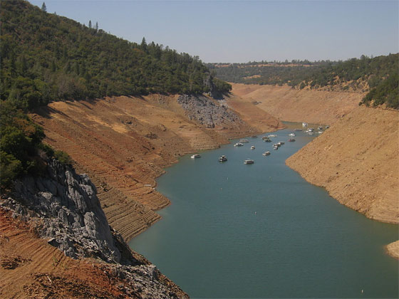 low-water-california-reservoirs