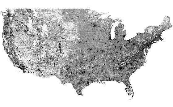 Map Of EVERY Road In The United States