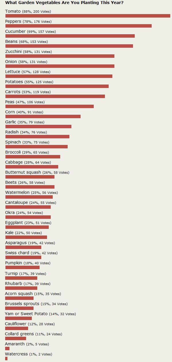 most-popular-garden-vegetables