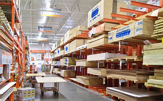 Image result for home depot aisle