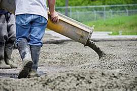 pour-concrete-pad