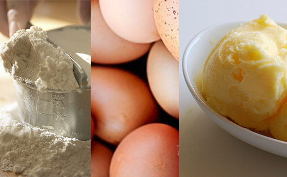 flour-eggs-and-butter