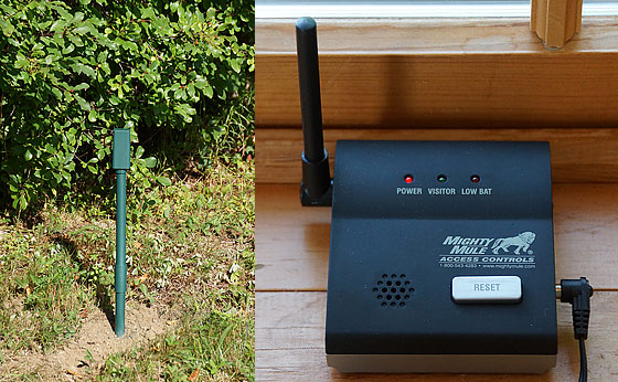 driveway-alarm-transmitter-and-receiver