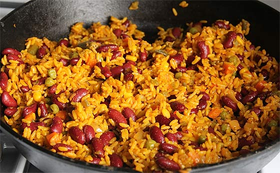 Spanish rice and beans recipes easy