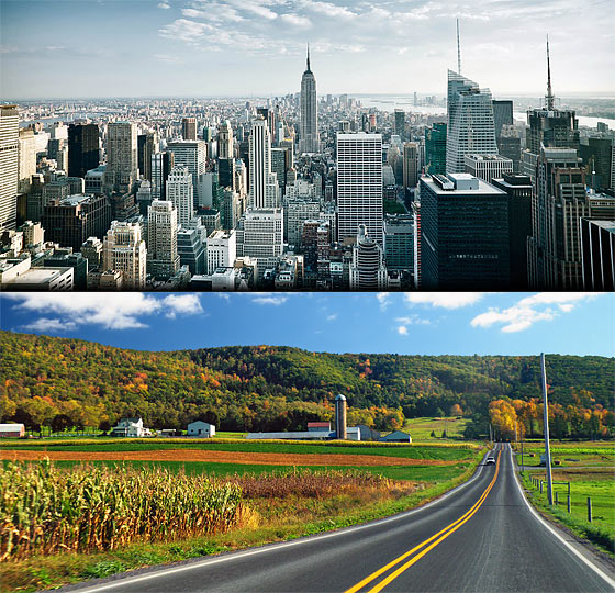 city-versus-country