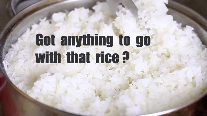 Complimentary Foods For Rice?