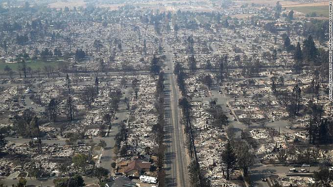 California Fires in Santa Rosa