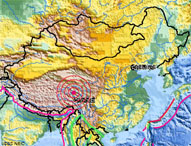 qinghai-china-earthquake-map