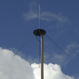 Homemade weather alert radio antenna