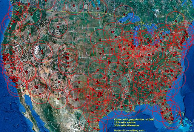usa-survival-location-map-300-mile-zones-not-safe-with-population-more-than-100-thousand-except-for-geographical-terrain-barriers