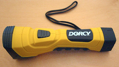 I love my Dorcy Cyberlight Flashlight