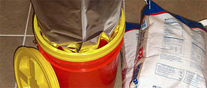 How to Seal a Mylar Bag in a 5-gallon bucket