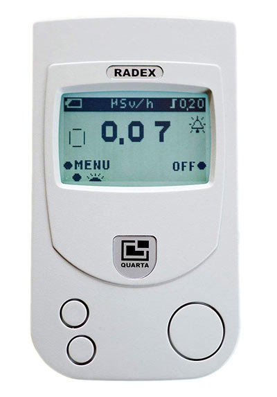 RADEX RD1503+ High accuracy Geiger counter