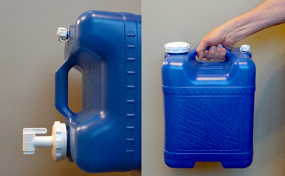 Practical, Portable, Drinking Water Storage Container
