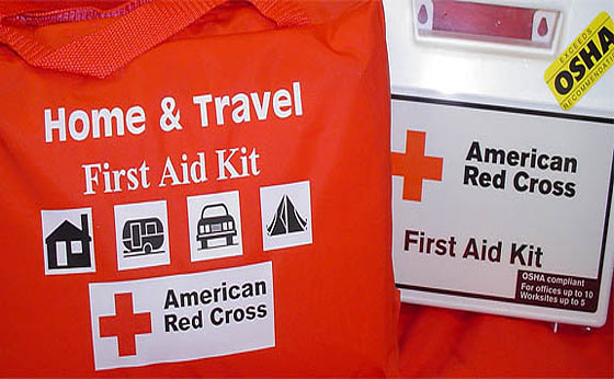 A First Aid Kit Should Include: