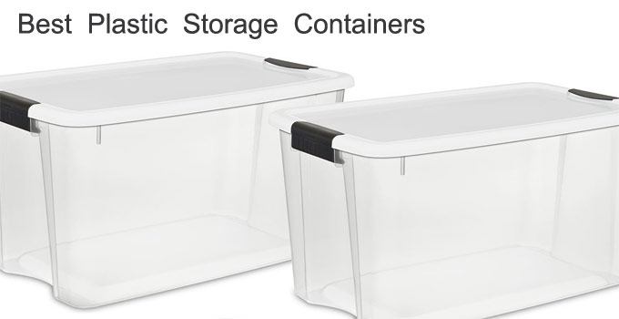 Best plastic storage containers heavy duty