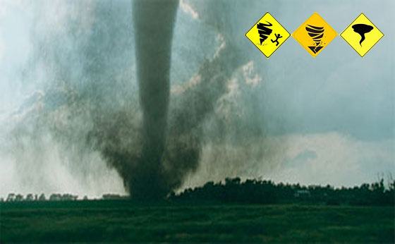 SIGNS OF A TORNADO – 10 Ways To Know If A Tornado Is Coming