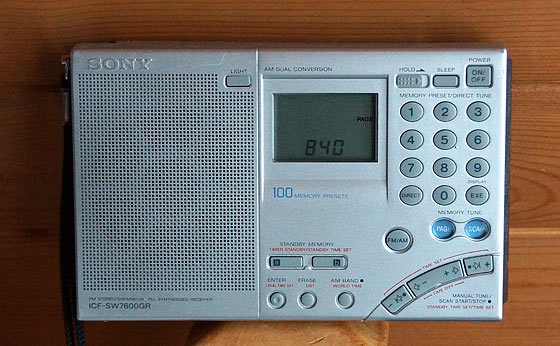 Shortwave Radio For Disaster Information