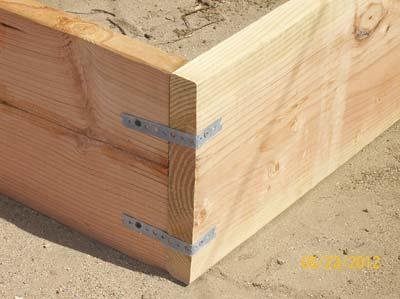 Amazon Garden Bed Corner Joints