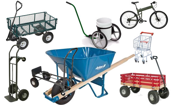 Yard Cart, Wagons & Wheelbarrows For Preparedness
