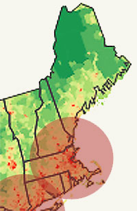 Northeast Population Density