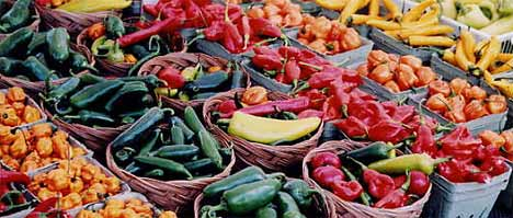 Buy Local At Farmers Market