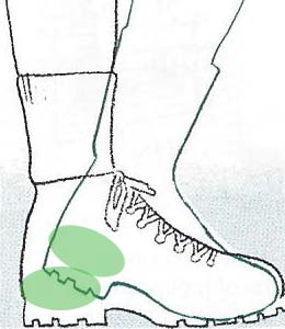 how-to-fit-hiking-boots-heel-should-not-move