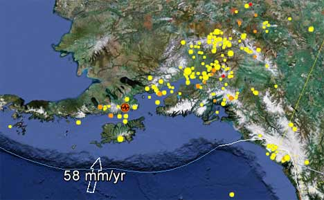 Hundreds Of Earthquakes In Alaska Last 7 Days